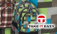 Take it easy Schulrucksack Collection für Schule und Freizeit